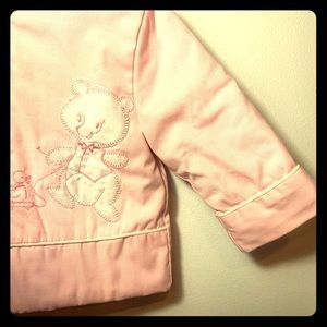 Vintage Pink Jacket Bear & Duck 12M Girls